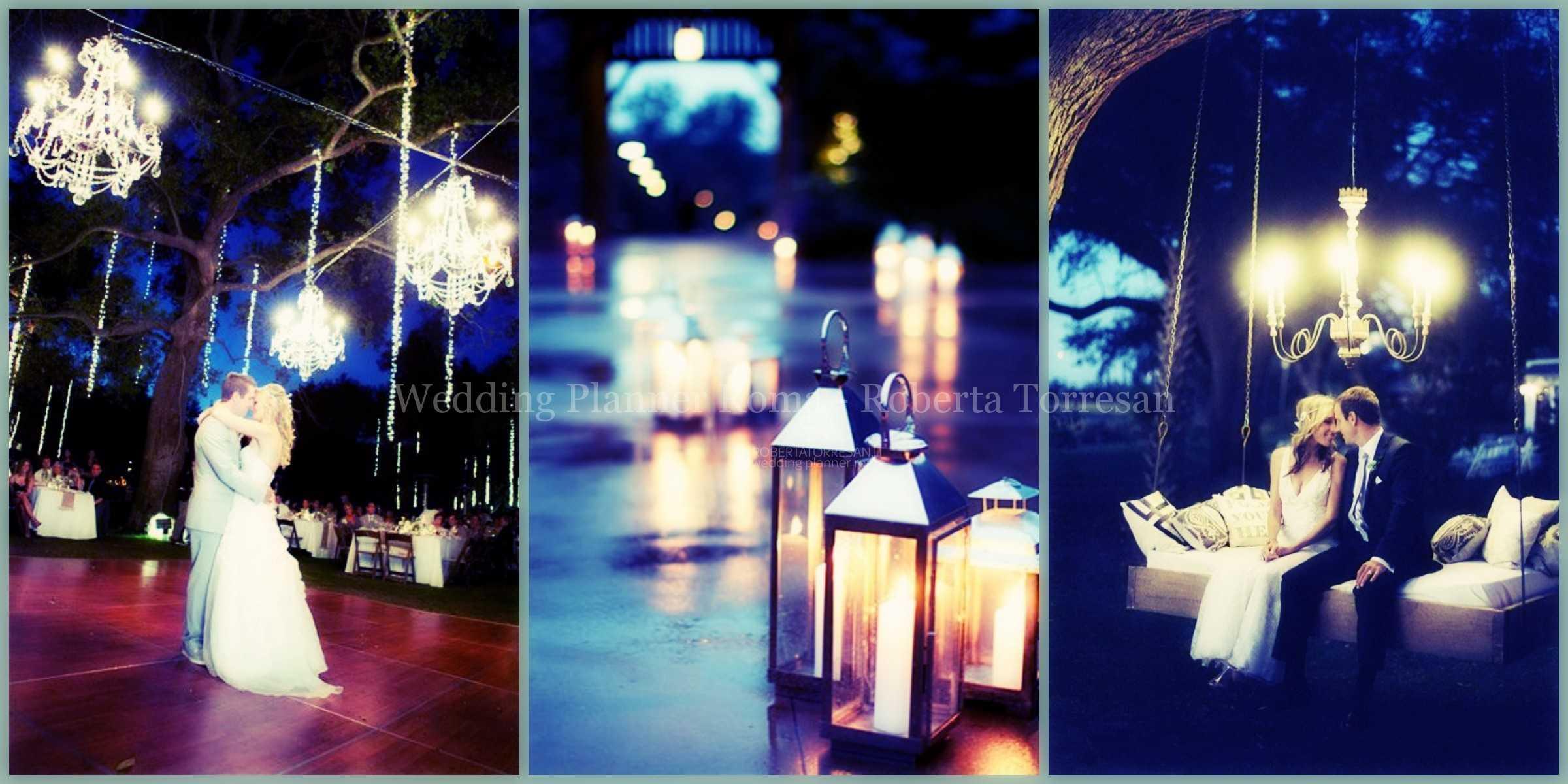 matrimonio di sera