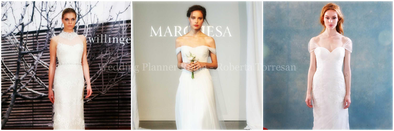 tendenze abiti sposa per la primavera 2015