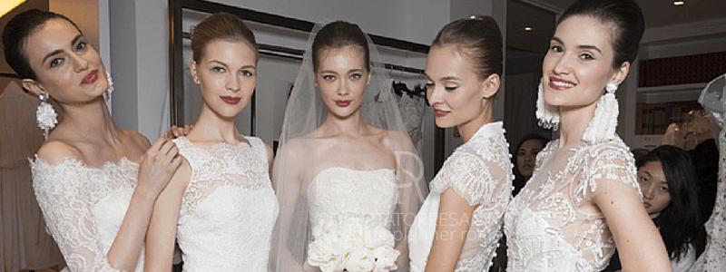 La Bridal Fashion Week di New York ha permesso di vedere e capire quali saranno le tendenze moda per la sposa 2016;