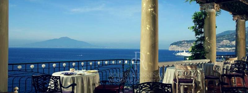 Le pi belle location per un matrimonio a sorrento for Terrazza vittoria sorrento