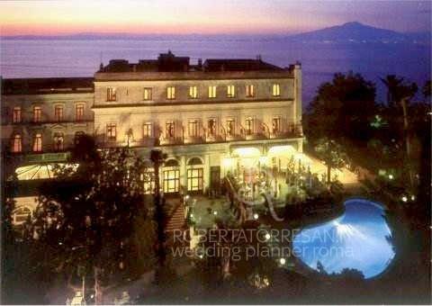 le più belle location per un matrimonio a Sorrento Imperial Tramontano