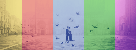 Quali colori andranno di moda nei matrimoni 2016