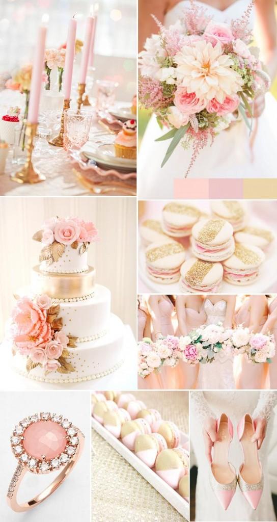 matrimonio quarzo rosa