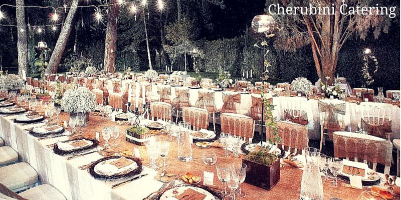 i più rinomati catering per matrimoni a Roma