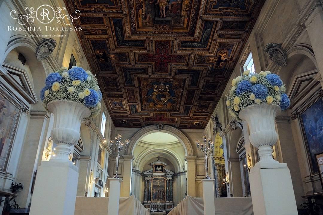 Matrimonio Colore Azzurro : Colore azzurro matrimonio chiesa wedding planner roma