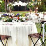 matrimonio all'aperto a villa dino