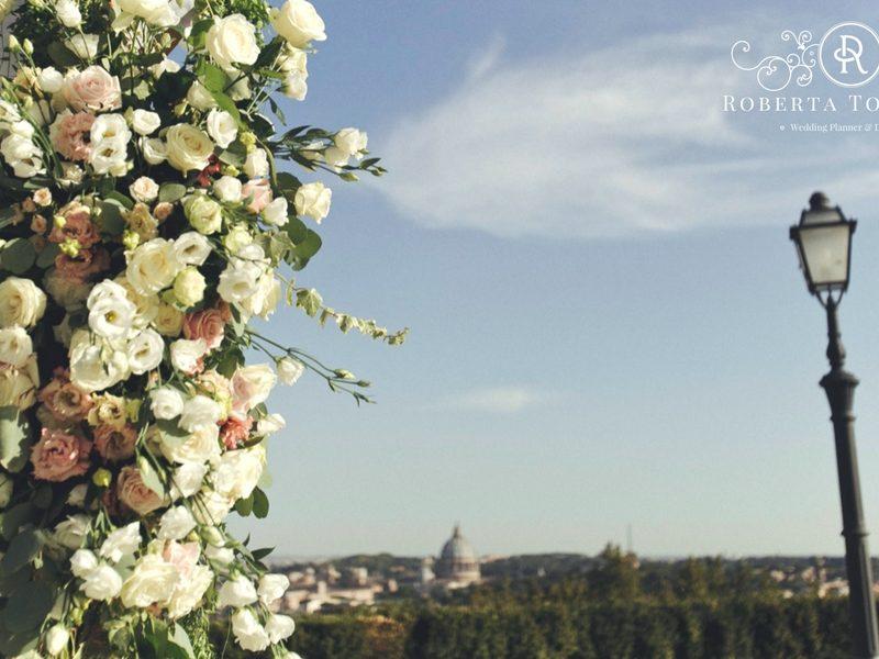 destination wedding a Roma